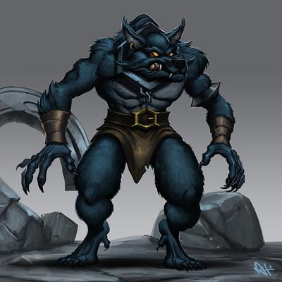 Ryan harasym blue werewolf 3