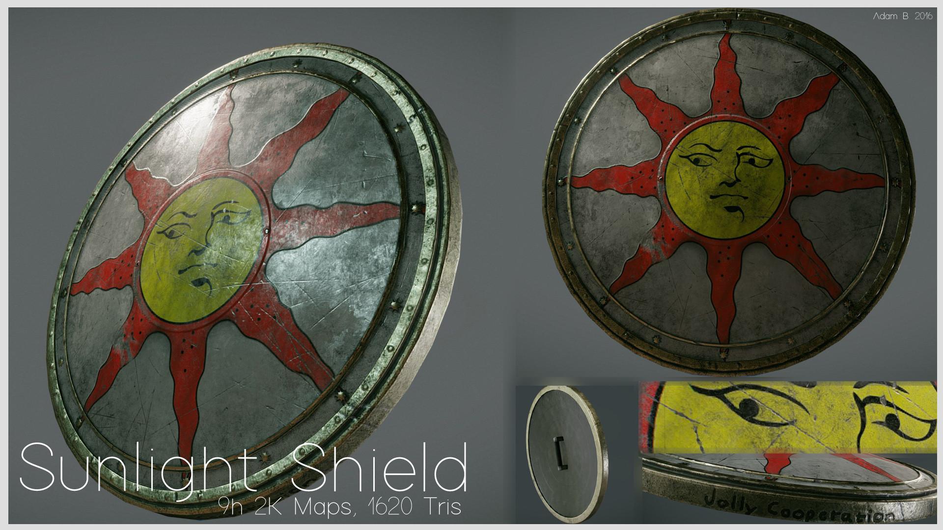ArtStation - Sunlight Shield, Adam Bergström