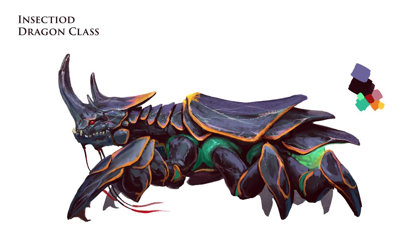 Neil Richards Bug Dragon