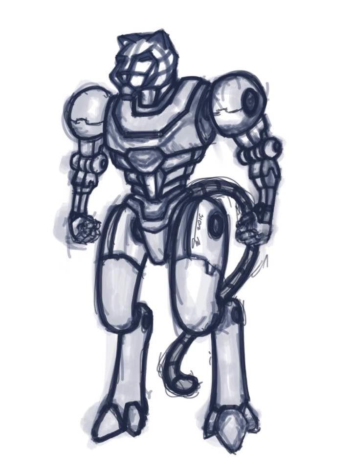 Arcadeous phoenix tigrabot