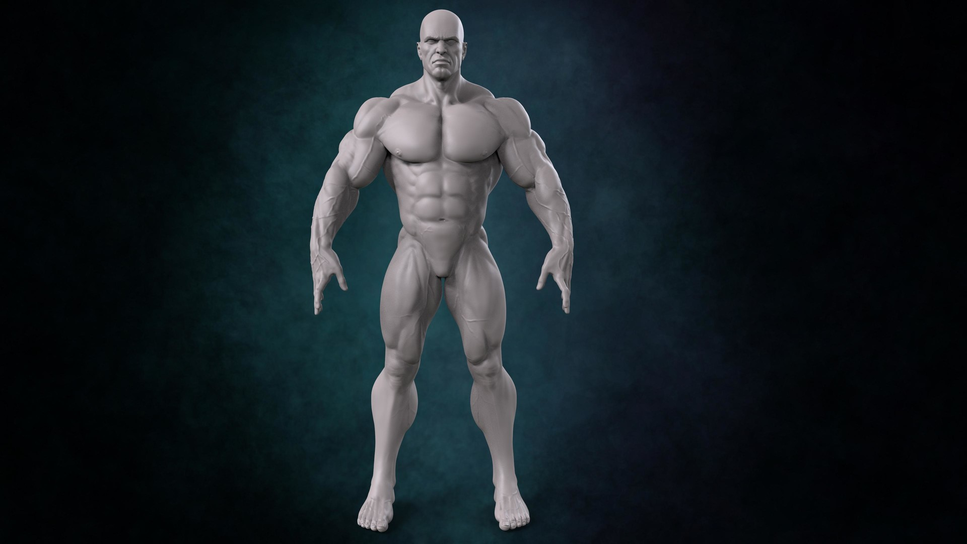 artstation - male anatomy, alfonso prieto, Human Body