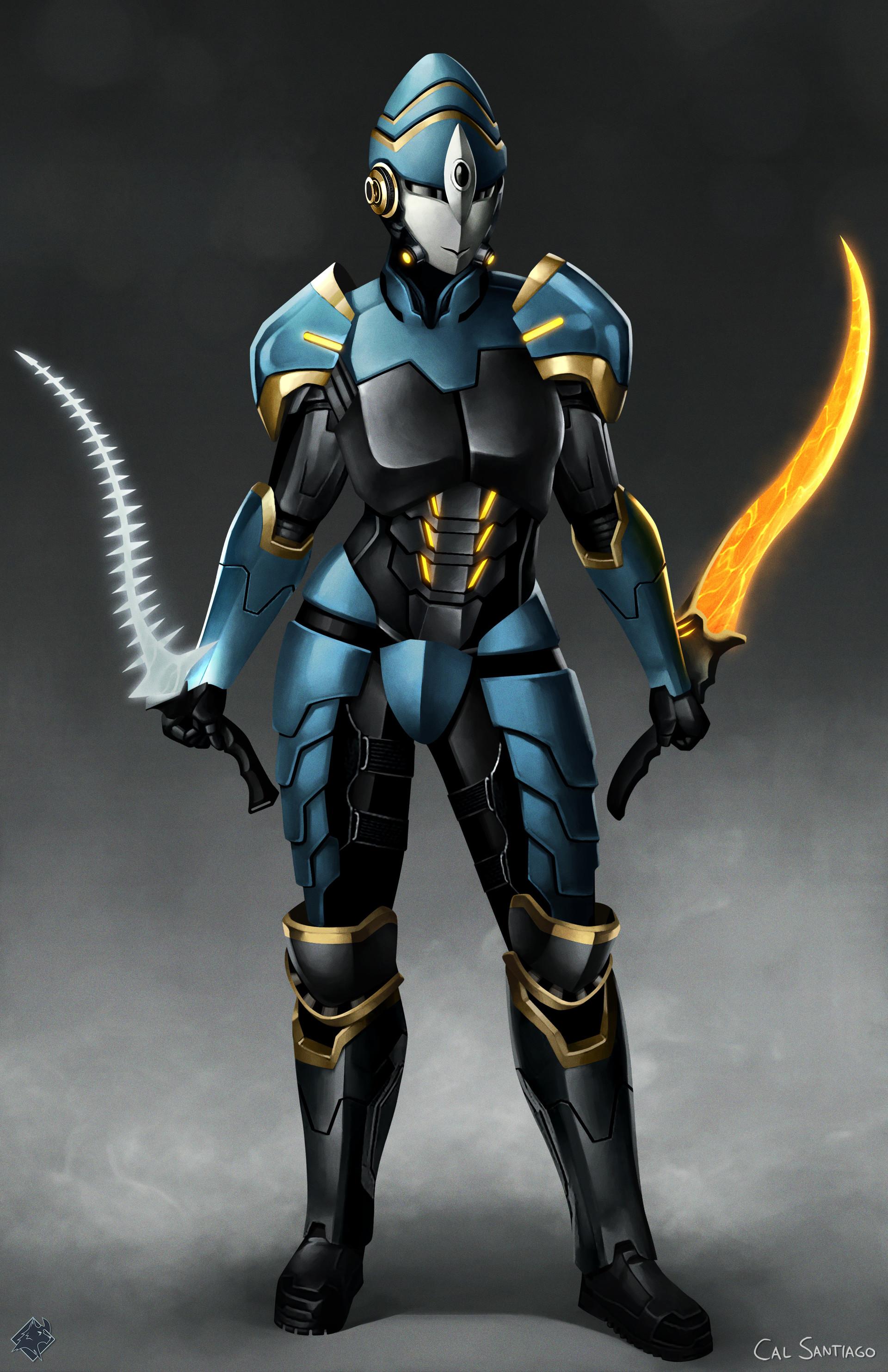 Artstation Sci Fi Souls Ciaran Armor Cal Santiago