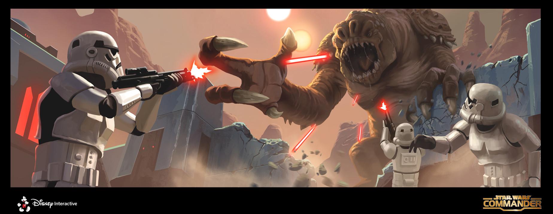 ArtStation - Star Wars Commander, David Le Merrer