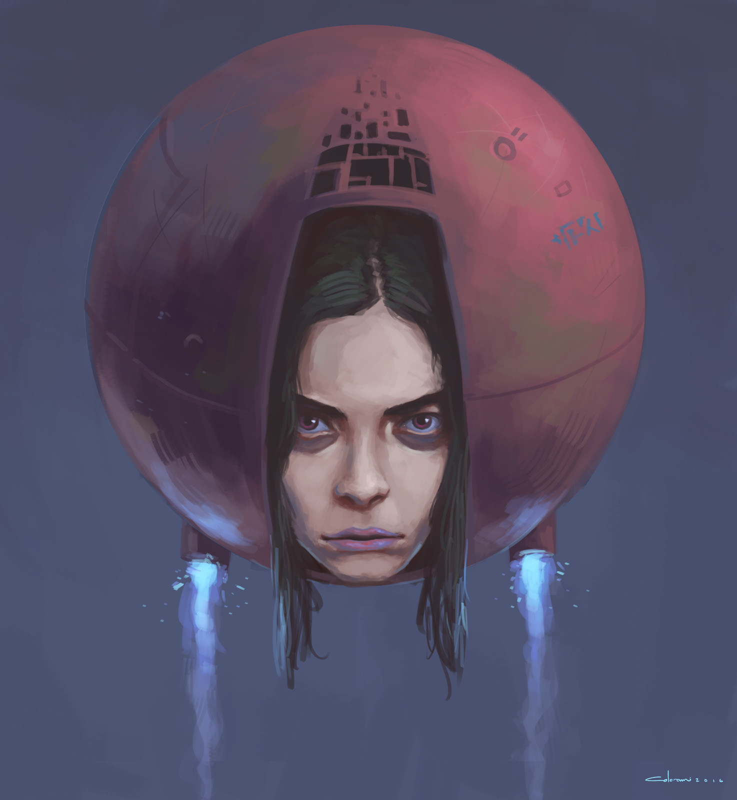 Floating head