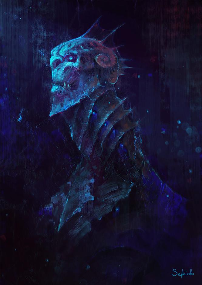 Sephiroth art merman4