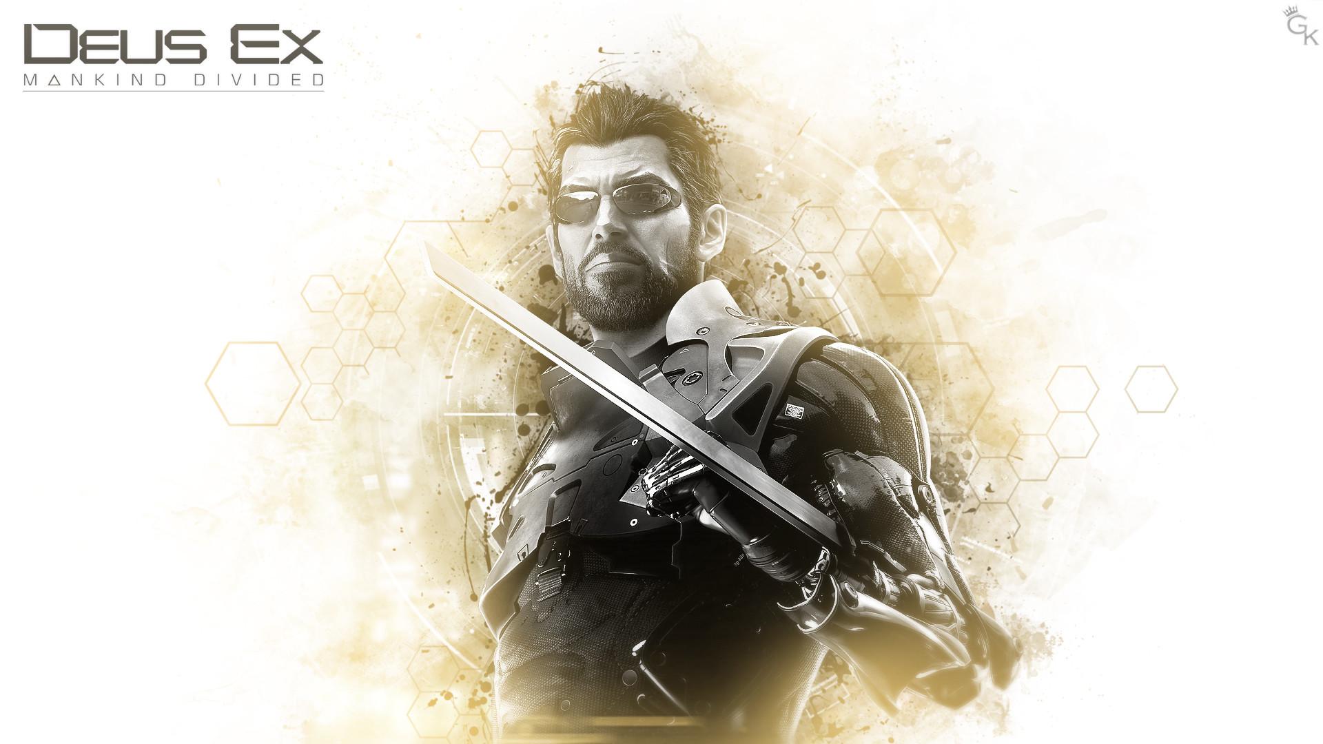 Artstation Deus Ex Mankind Divided Wallpaper Mahesh Campbell