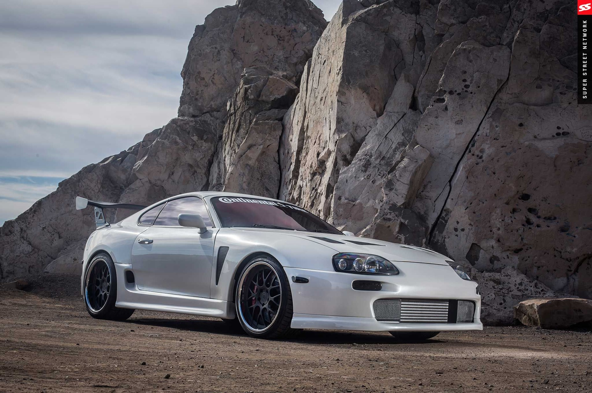 Andre camacho design 1994 toyota supra trd widebody kit