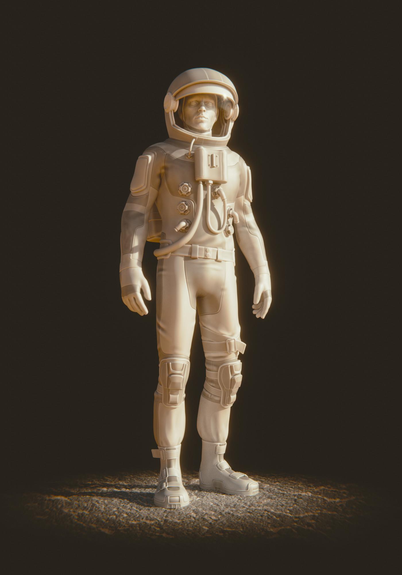 Lucas falcao austronaut suit wip19