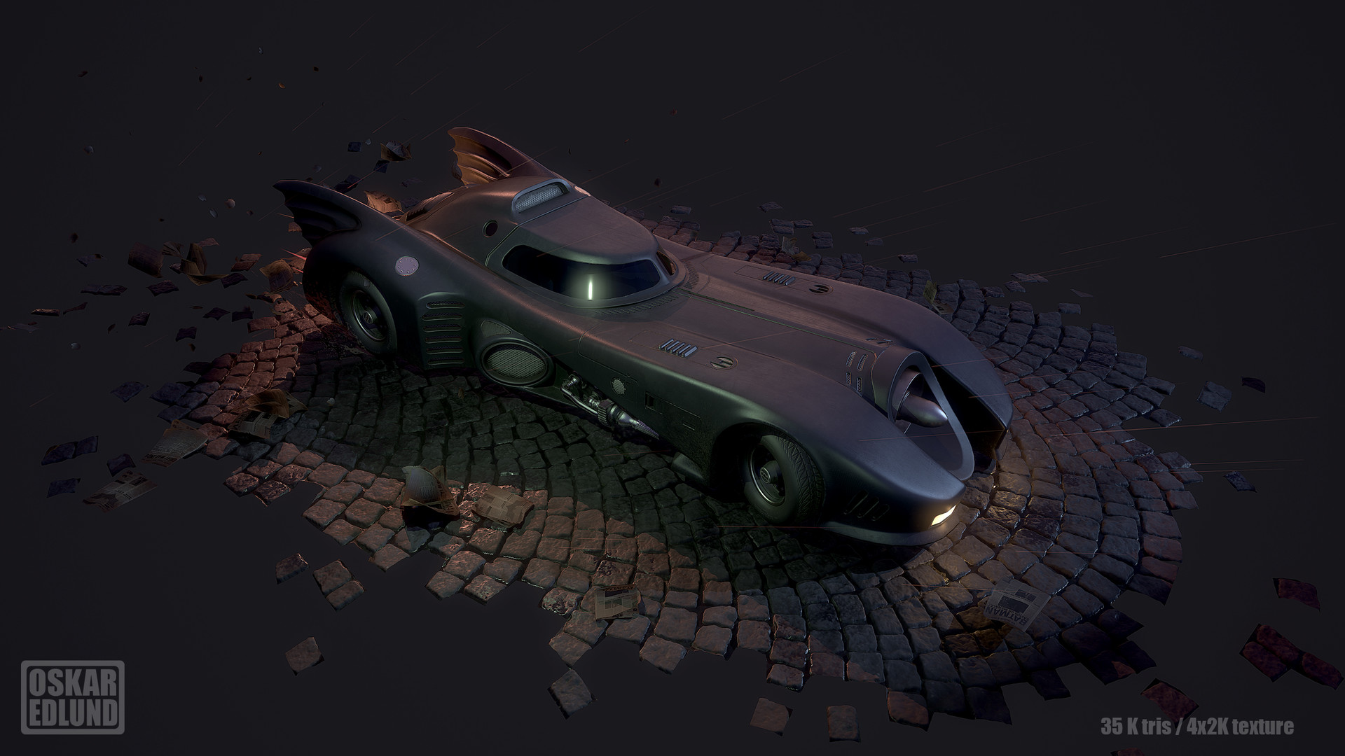 Oskar edlund batmobile 02