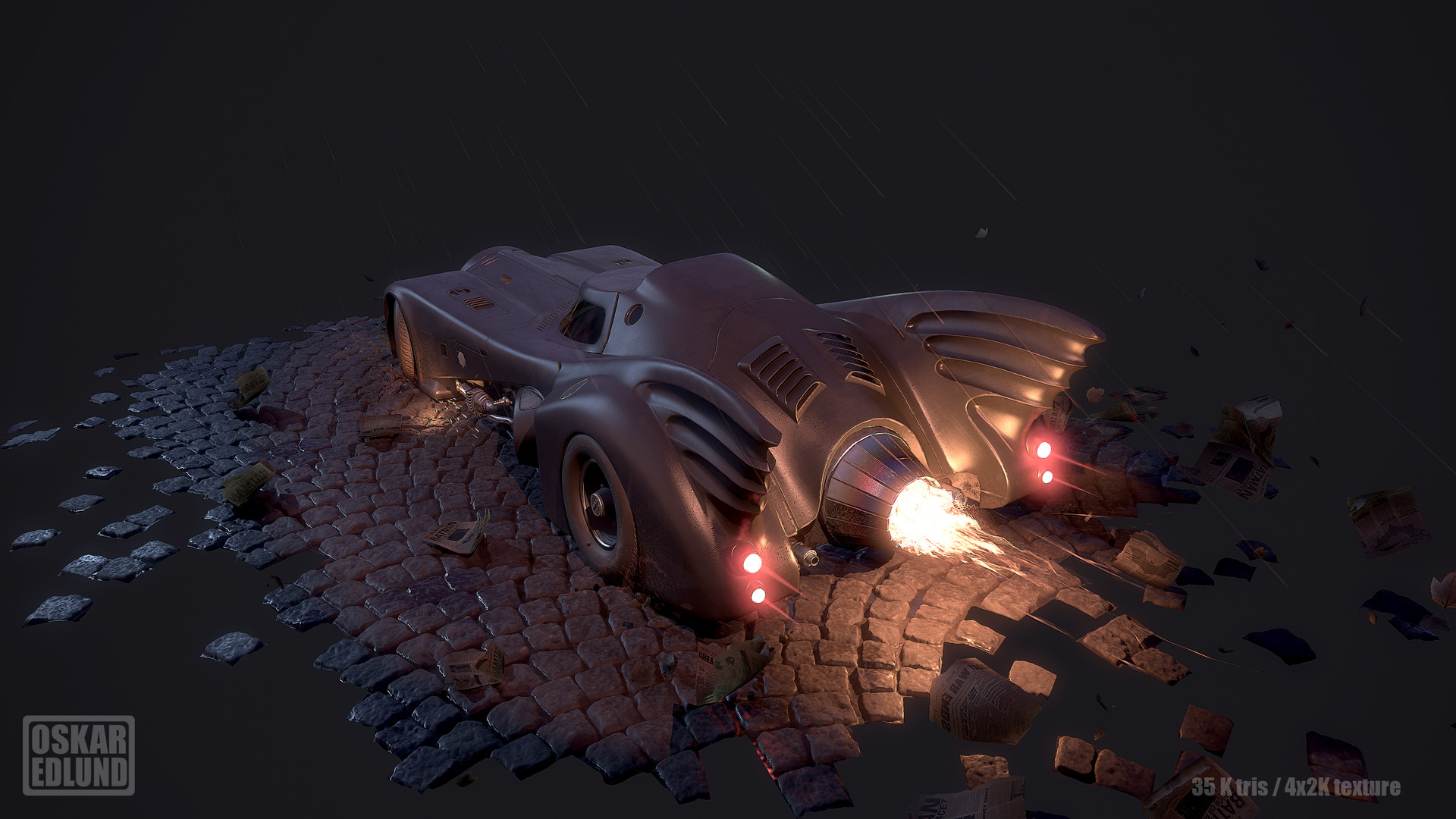 Oskar edlund batmobile 04