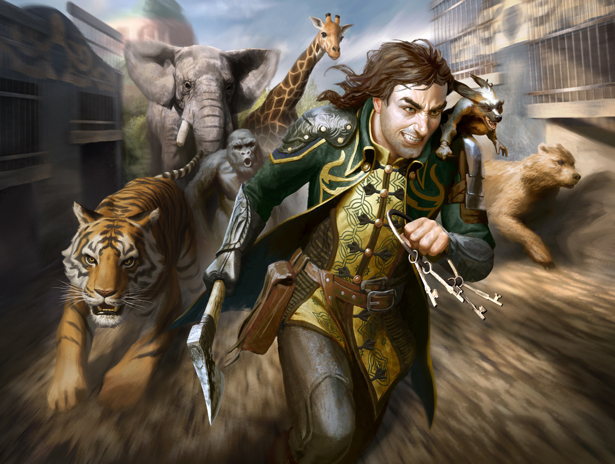"""Menagerie Liberator"" Magic the Gathering"