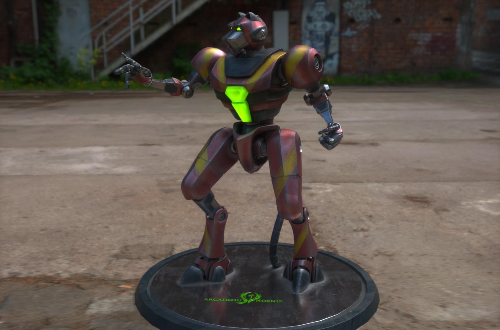 Arcadeous phoenix tigrabot 5