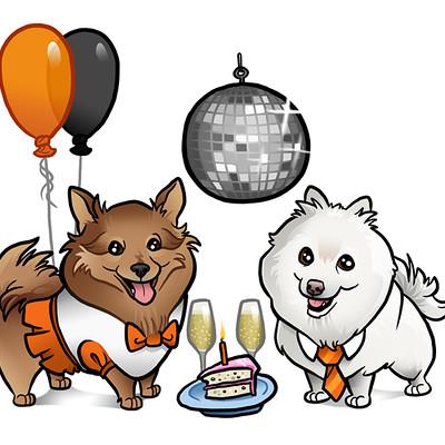 Steve rampton dog party