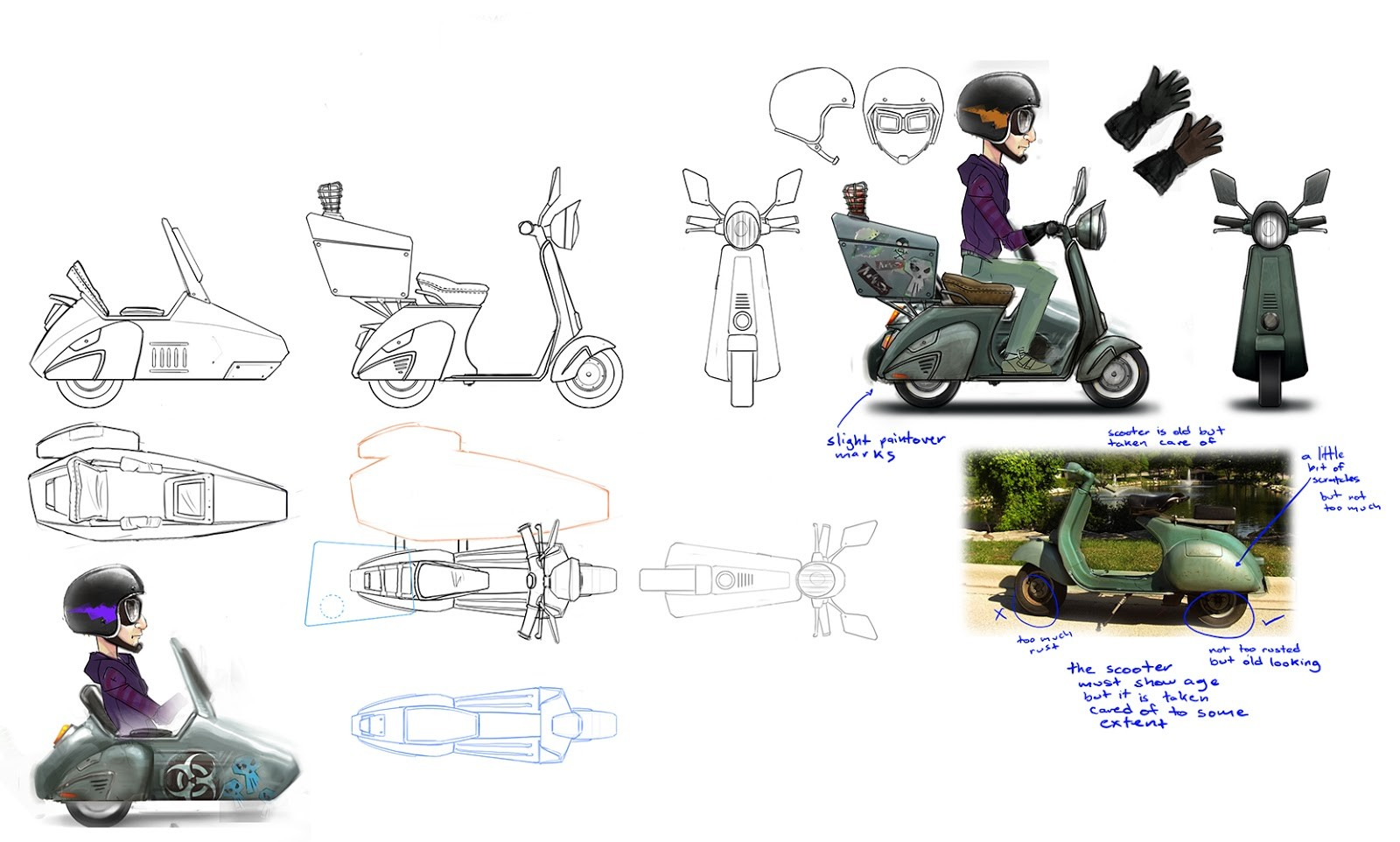 Jose cua scooter model sheet 02