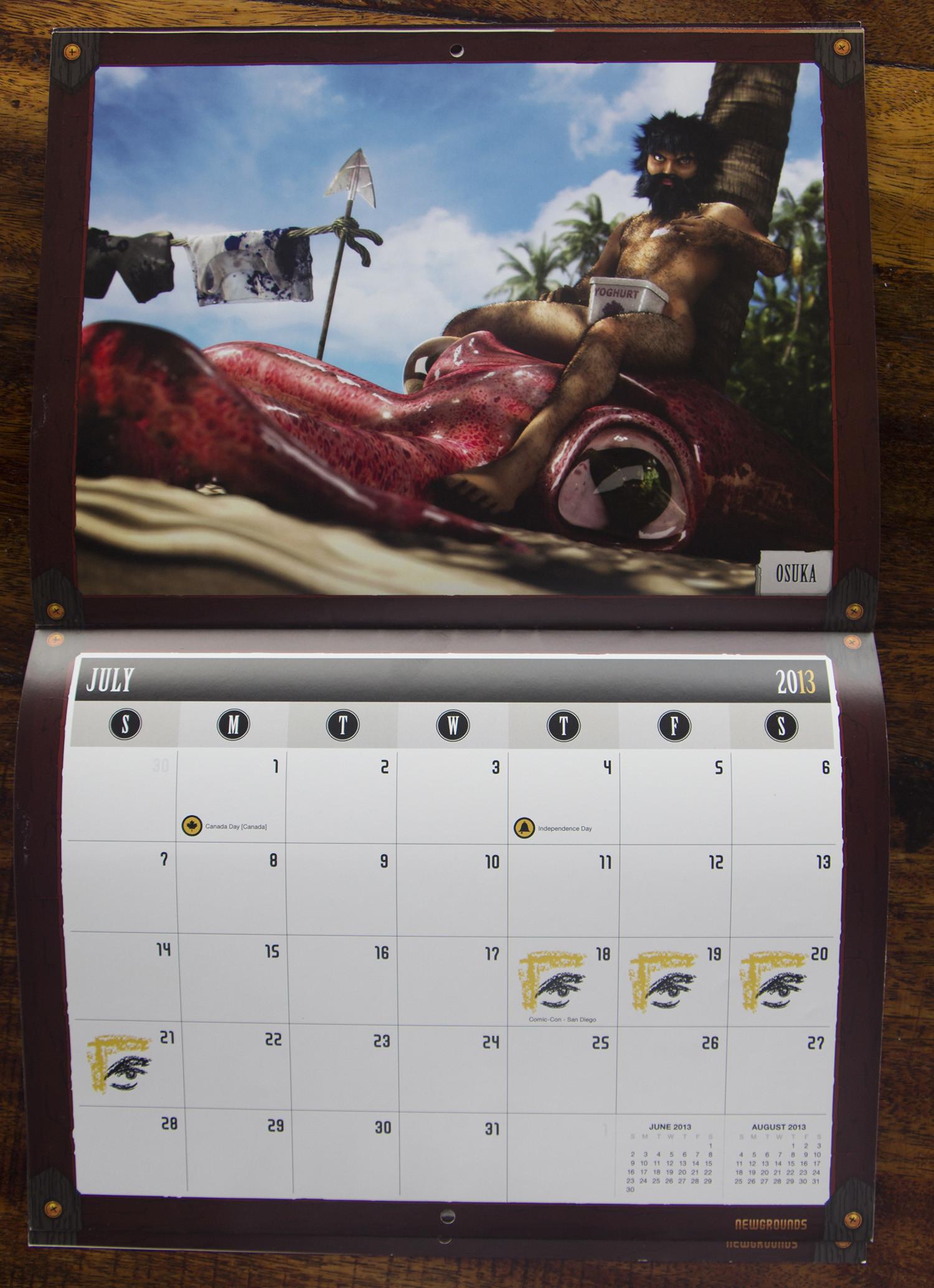 Print of the Calendar