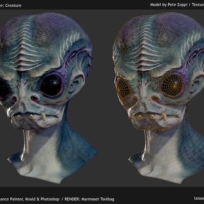 Laia aubao 08 texture practice creature
