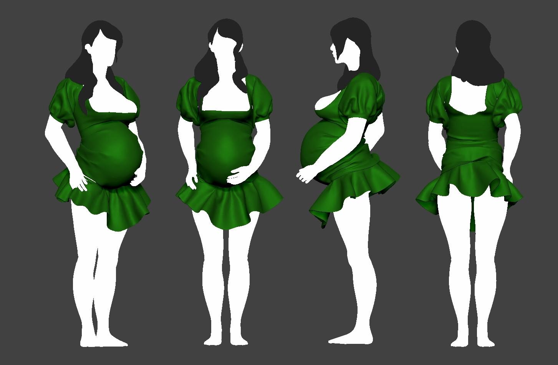 Pierre benjamin woman dress