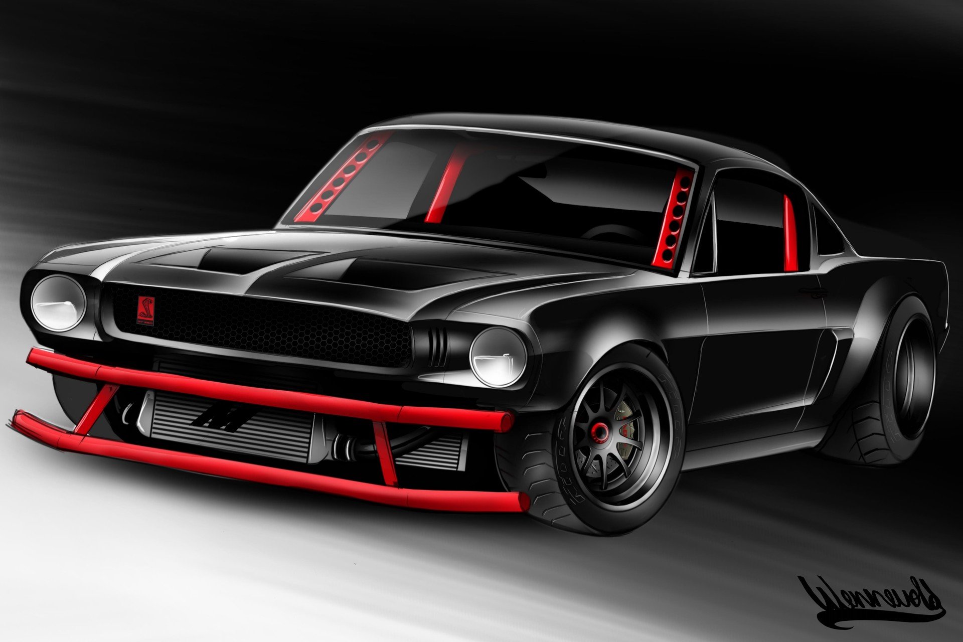 Andreas hoas wennevold mustang andreashoaswennevold