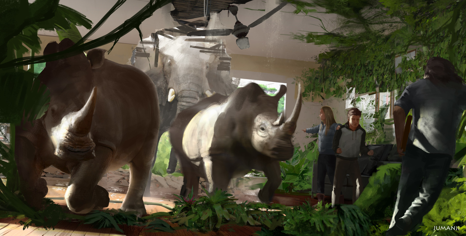 Fat hippo and a small gorilla - 1 part 8