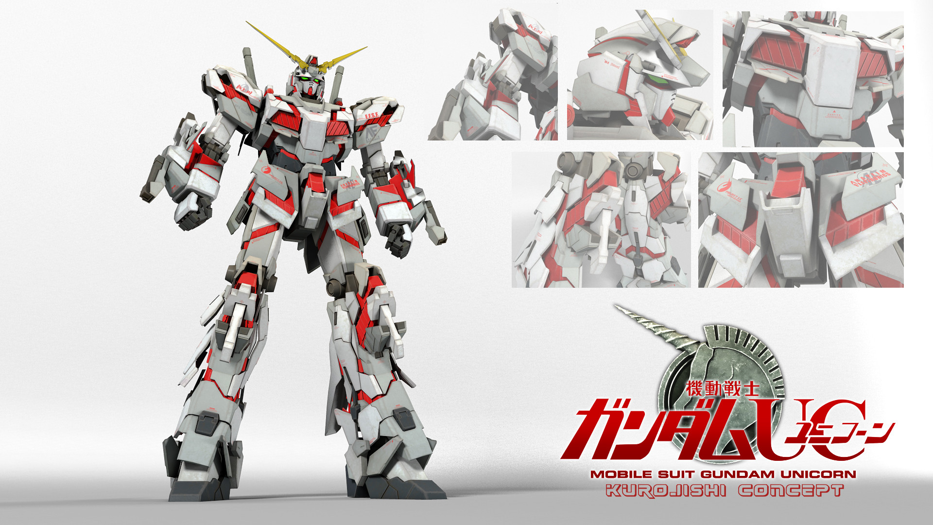 Gundam Unicorn Wallpaper 1920x1080