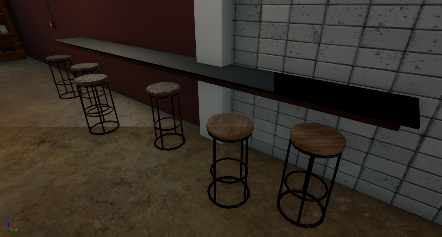 Kevin autry cafe counter unreal2