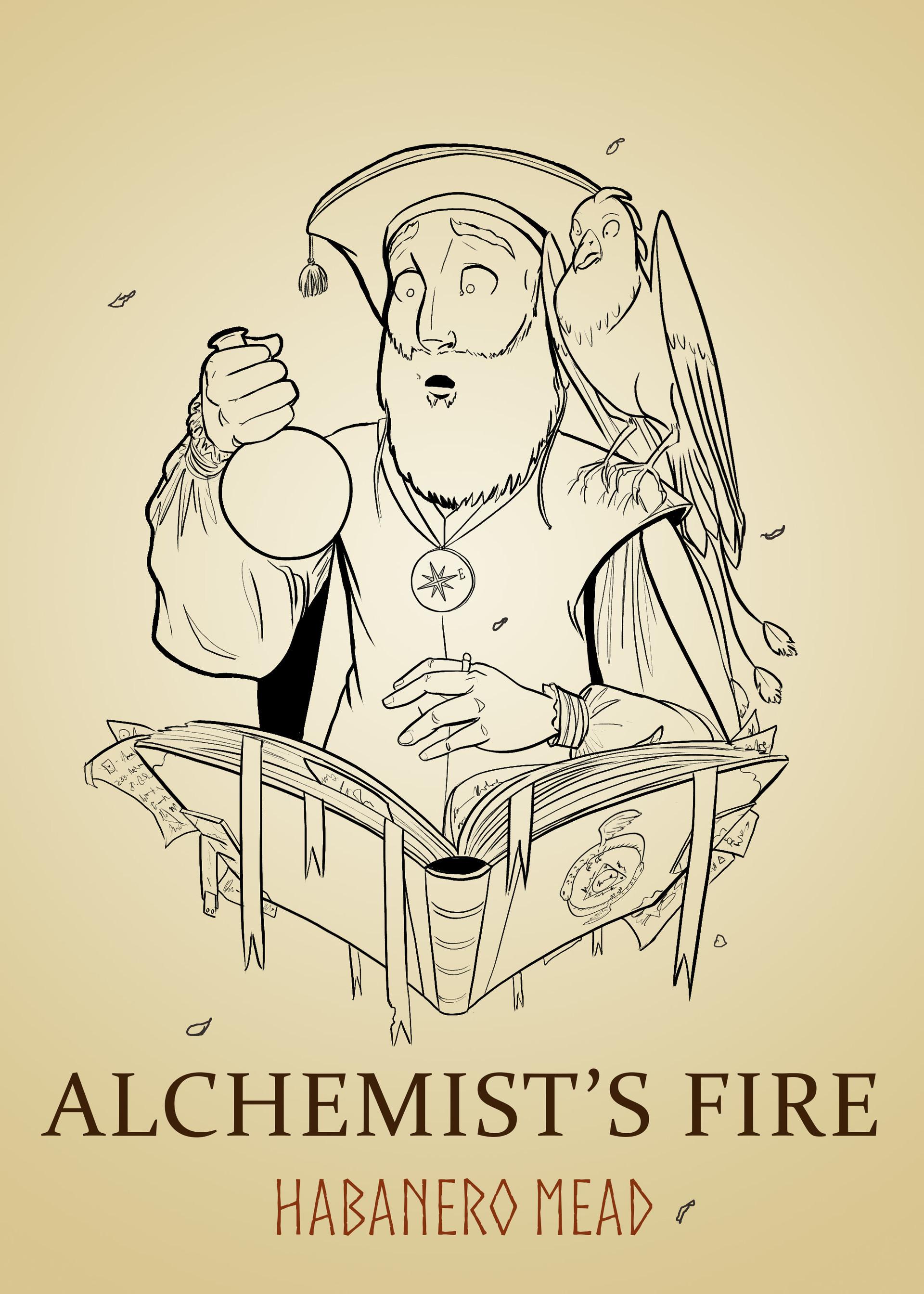 Jessica trevino alchemist linework
