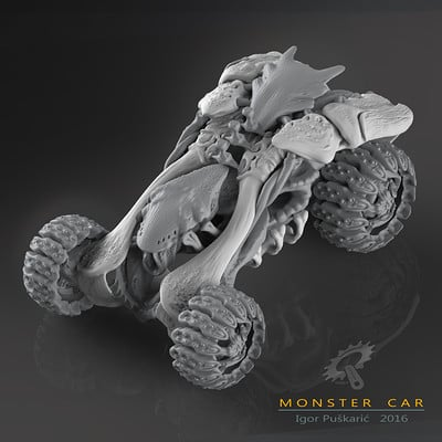 Igor puskaric monster car presentation cubic 2 0
