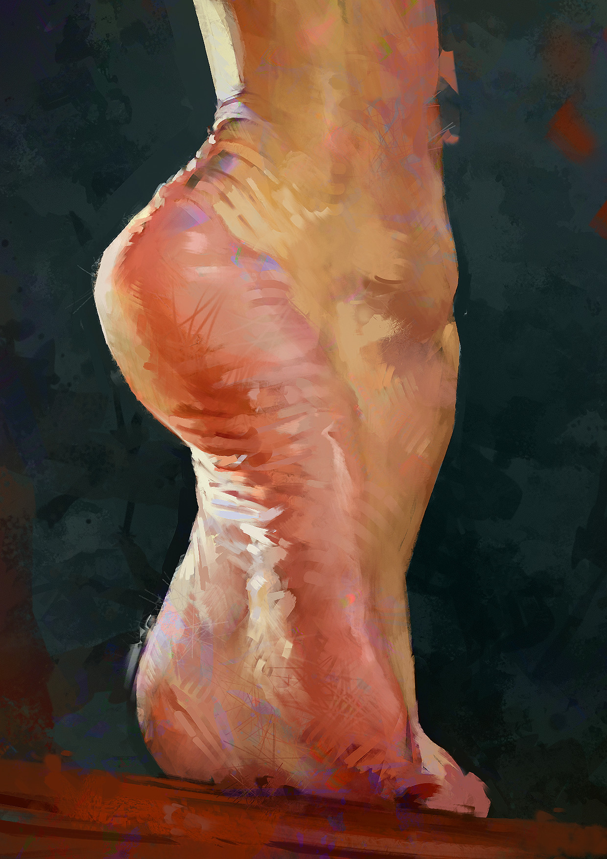 Aaron griffin foot study