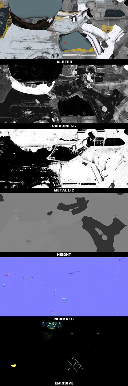 Texture Sample - PBR Metalness Workflow