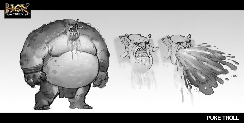 Rafael zanchetin puke troll character 0512