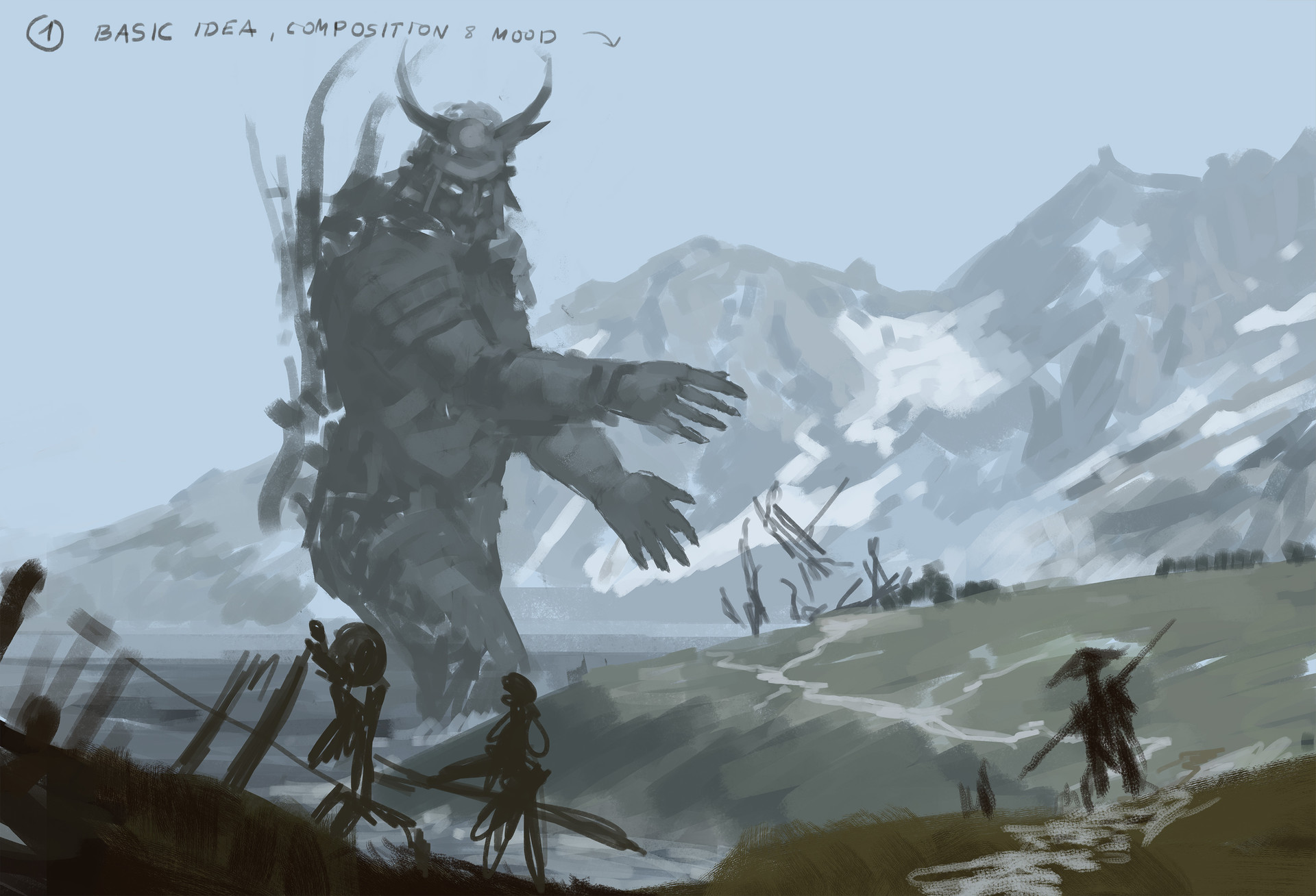 Jakub rozalski ancients conceptart 06process1