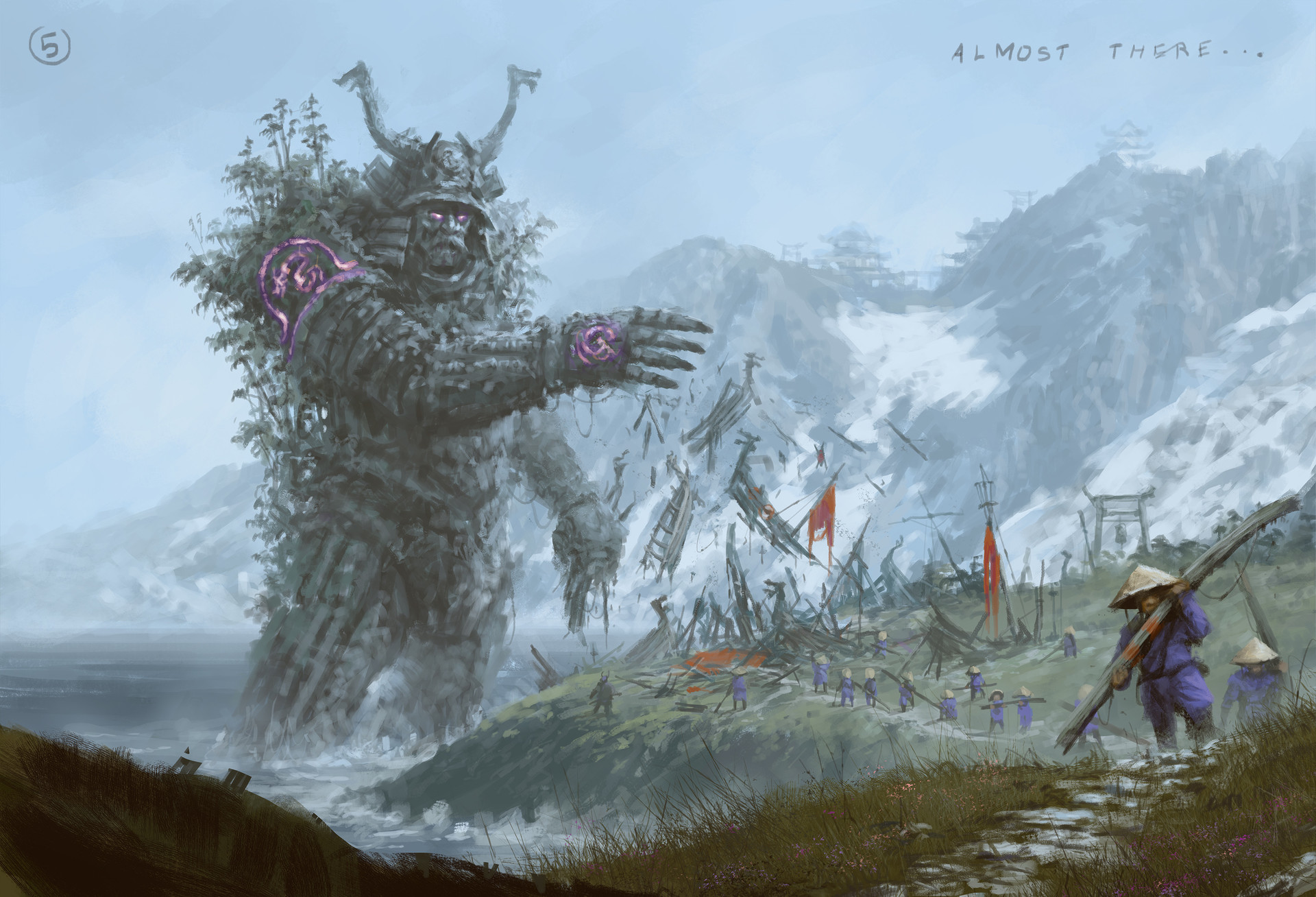 Jakub rozalski ancients conceptart 06process5