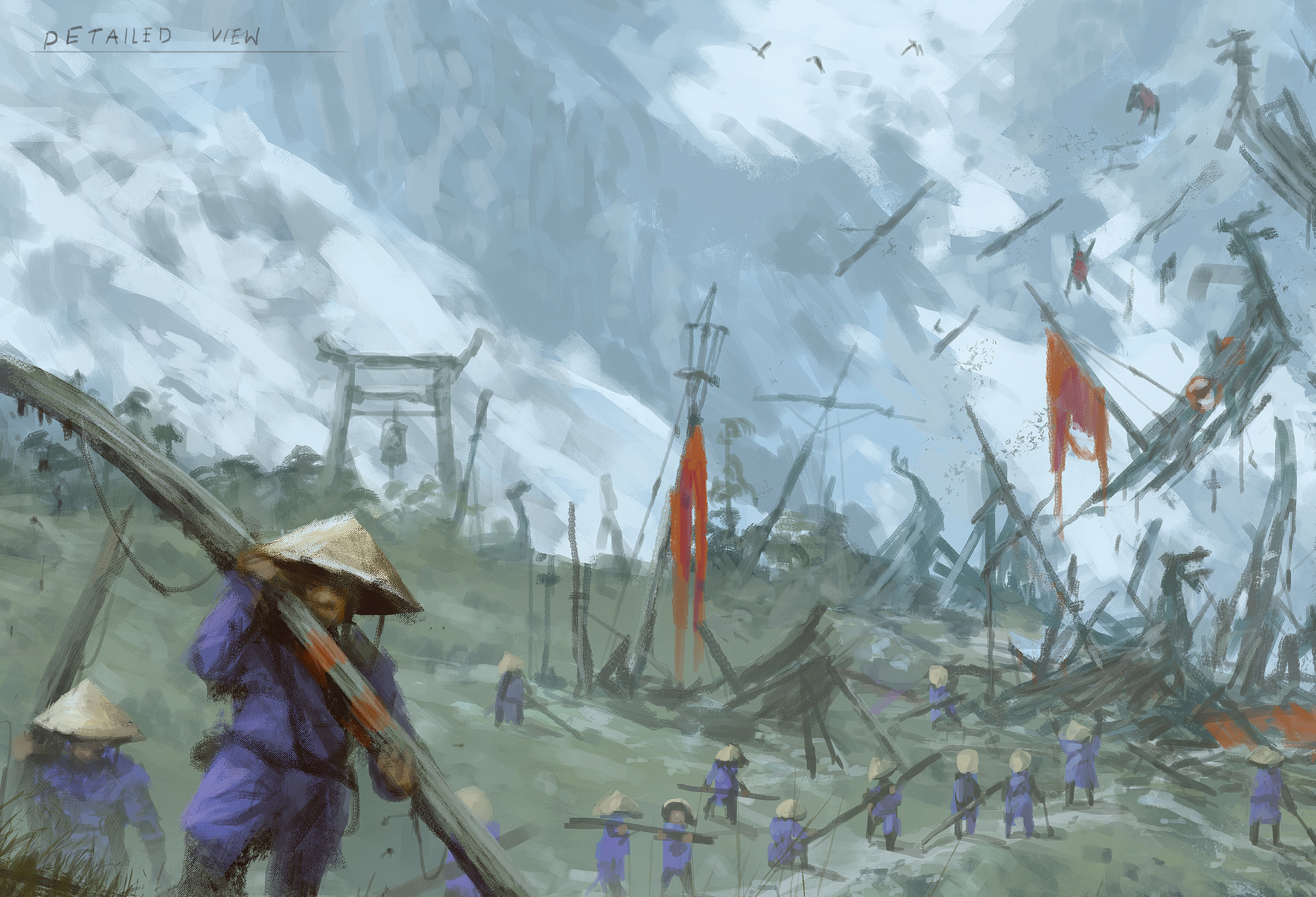 Jakub rozalski ancients conceptart 06process6
