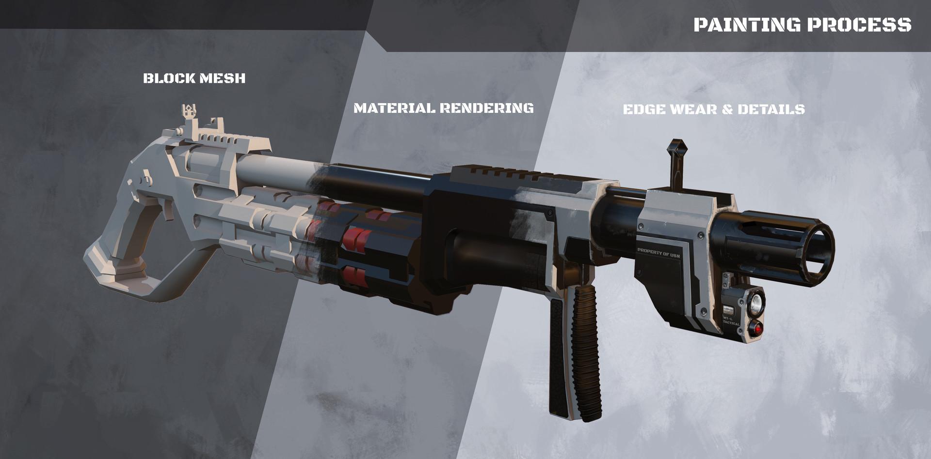 Kelvin liew shotgun front modern presentation