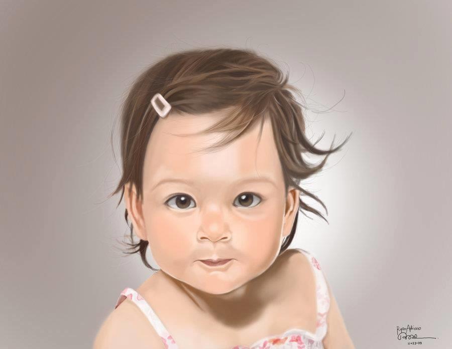 Rye adriano asian baby