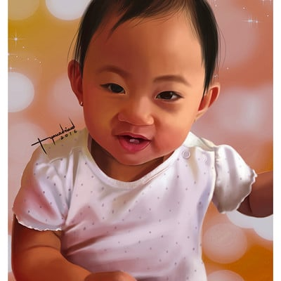 Rye adriano baby elisha portrait