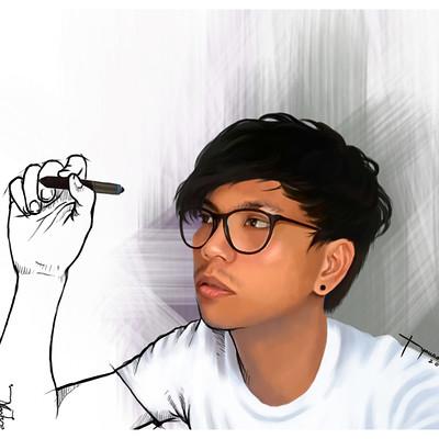 Rye adriano self portrait