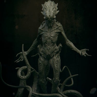 Daniel bystedt lovecraft monster 06