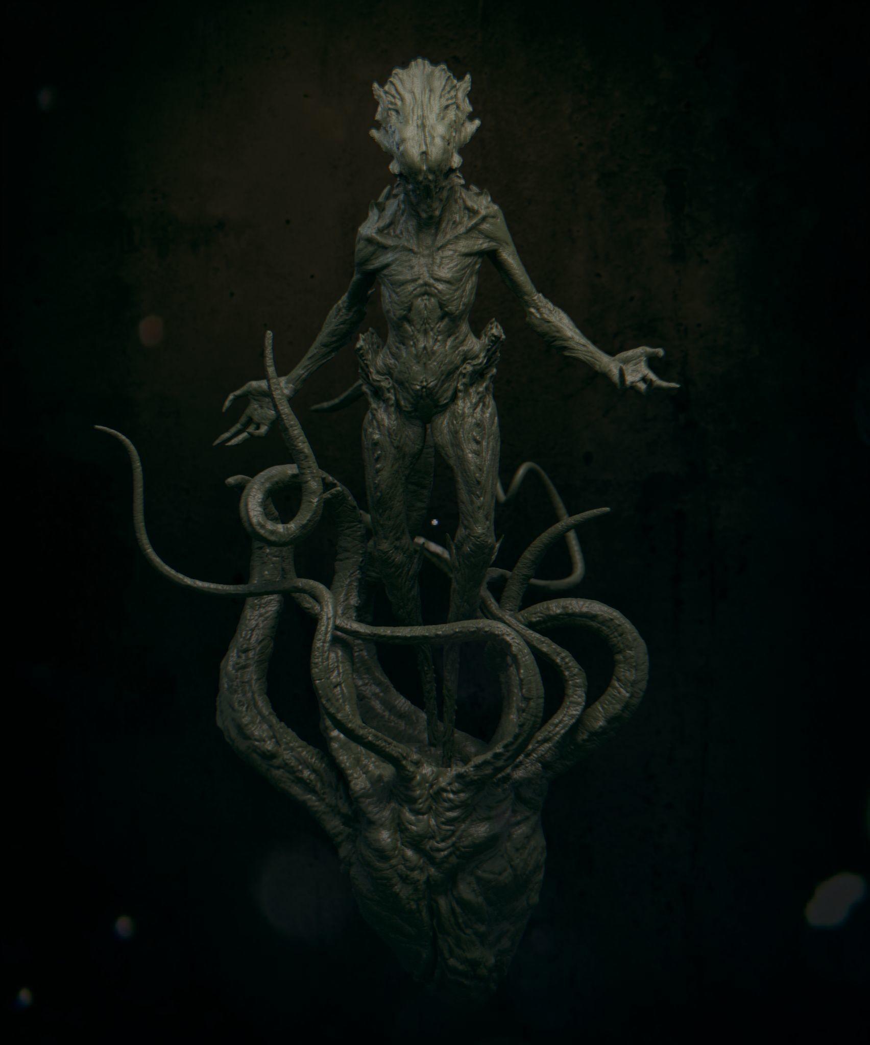 Daniel bystedt lovecraft monster