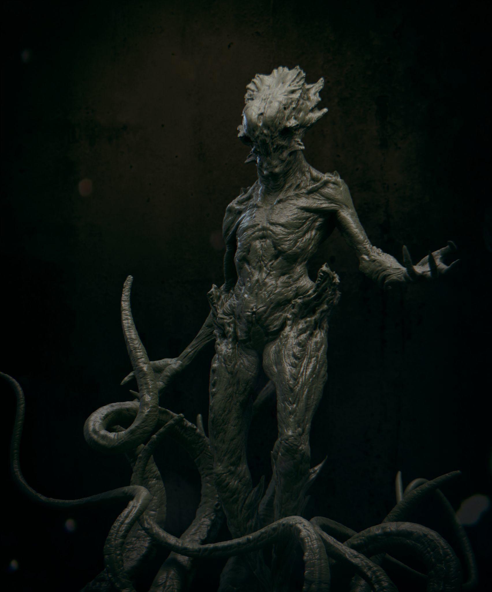 Daniel bystedt lovecraft monster 05