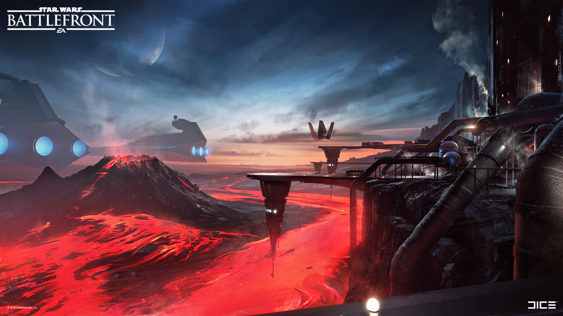 artstation - sorosuub factory concept art for the star wars