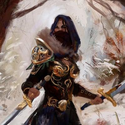 Sebastian horoszko 52 wood assassin