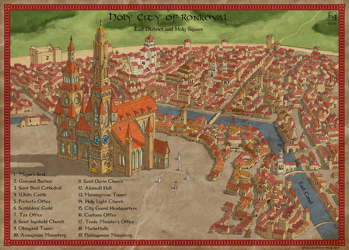 Holy City of Ronkoval