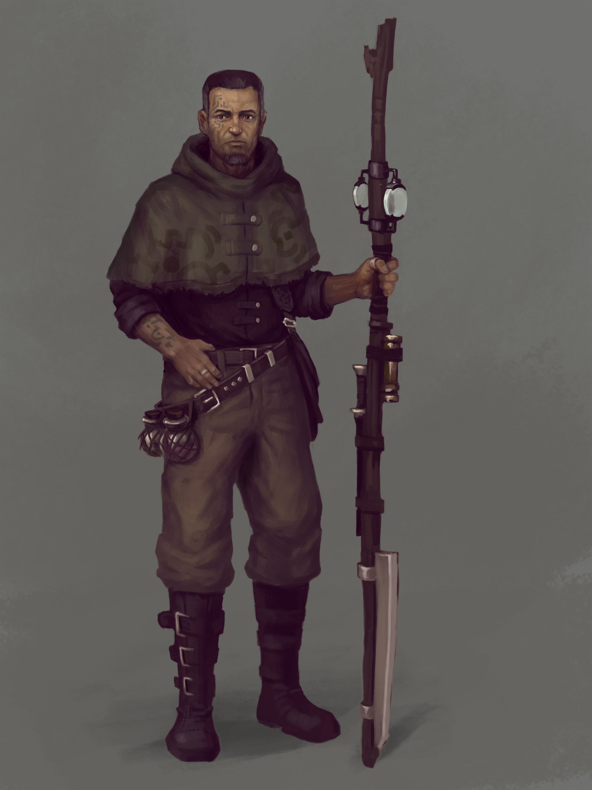 Fredrik dahl woodsman characterdesign final