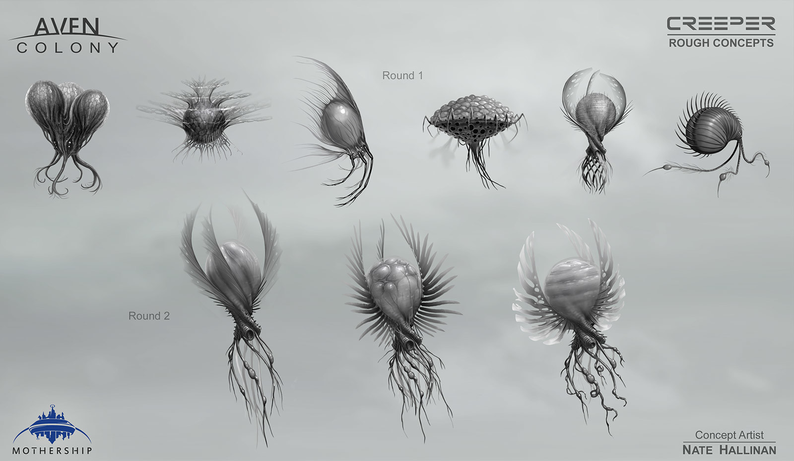 Nate hallinan ac alien creeper roughs