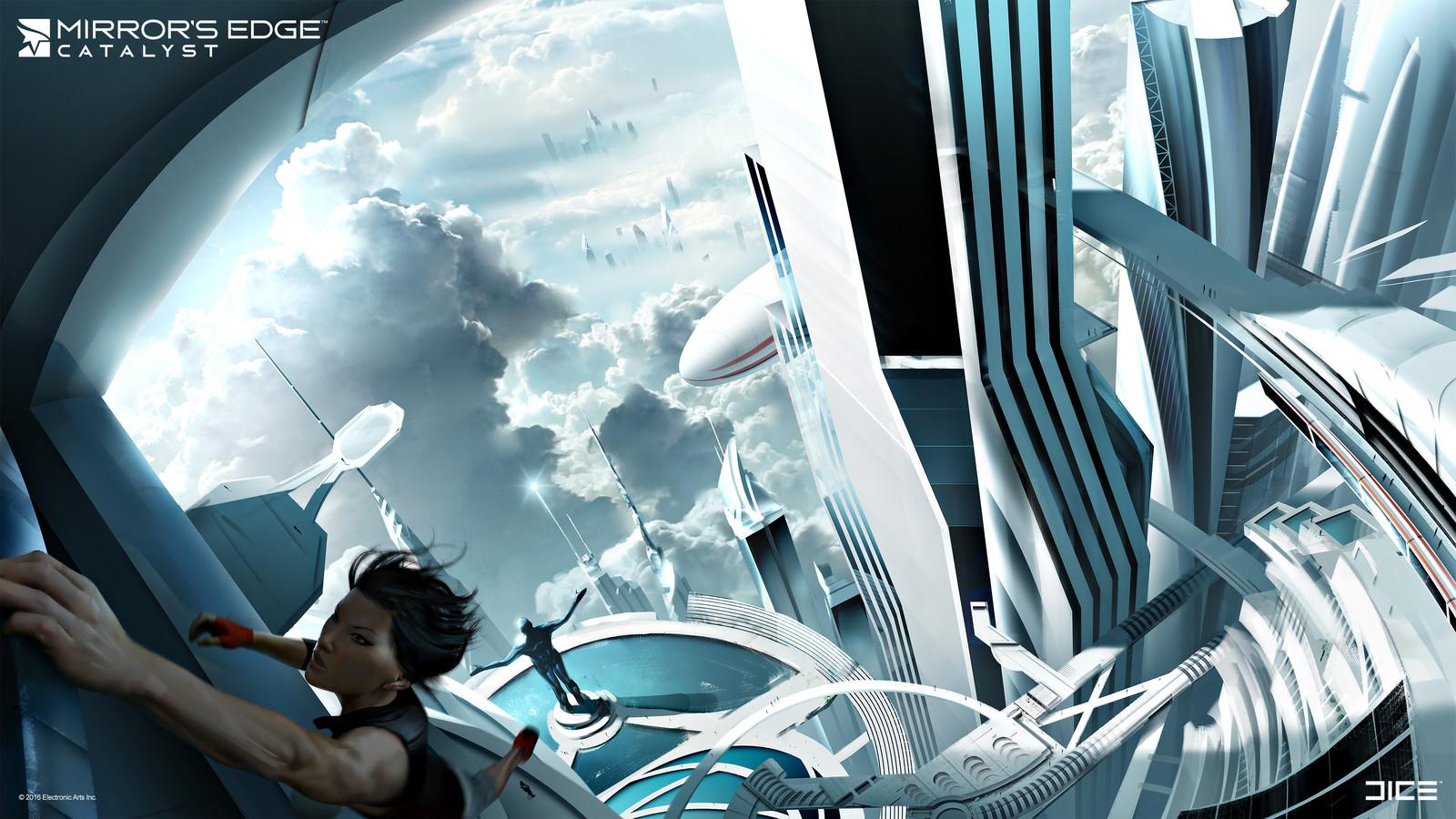 Sky city concept (2013)