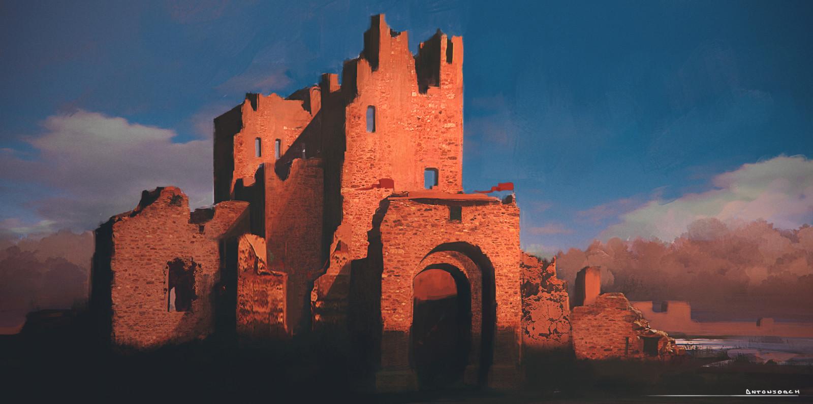 Ruins - Sketch