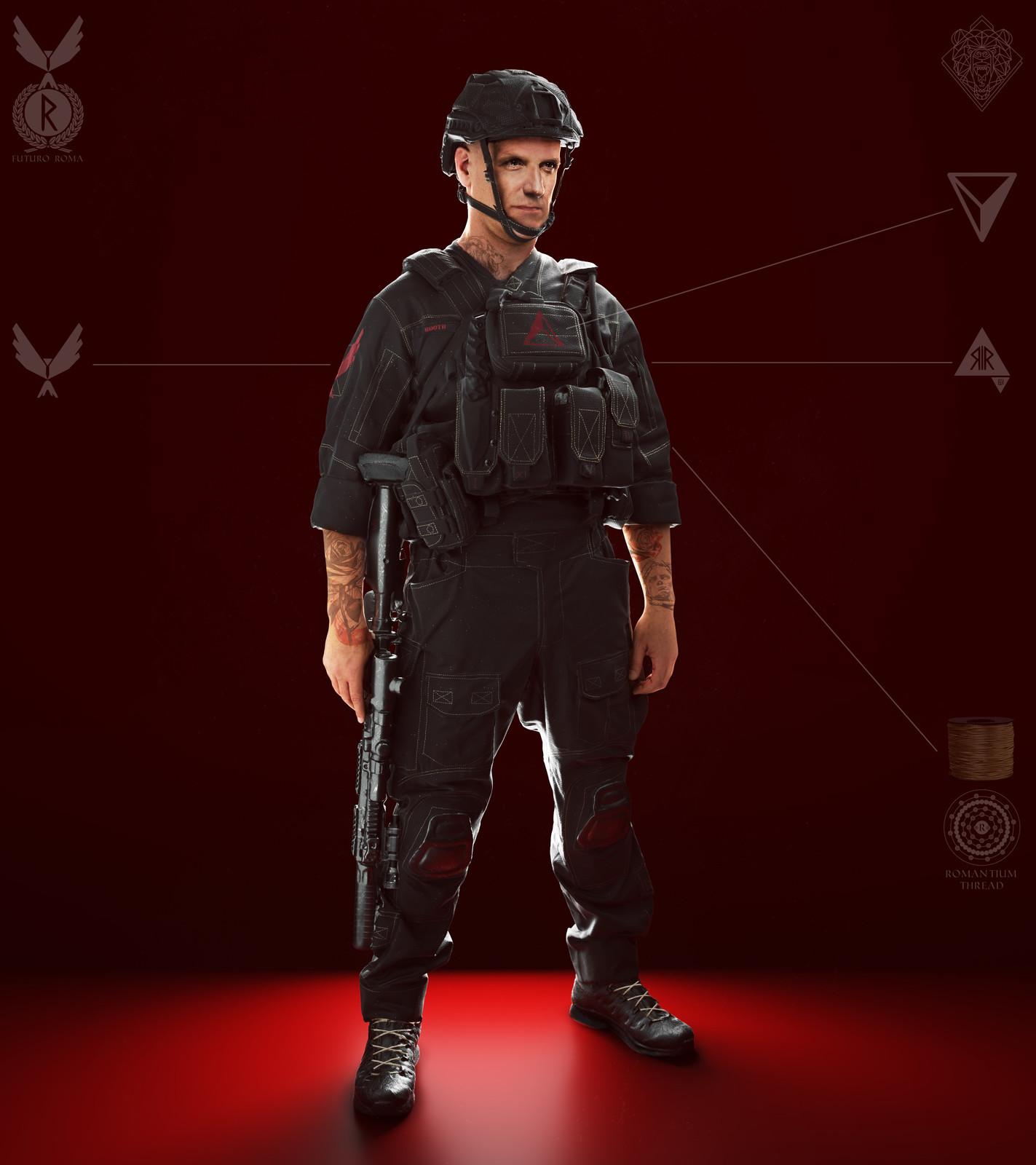 Futuro Roma Soldier Asset 1