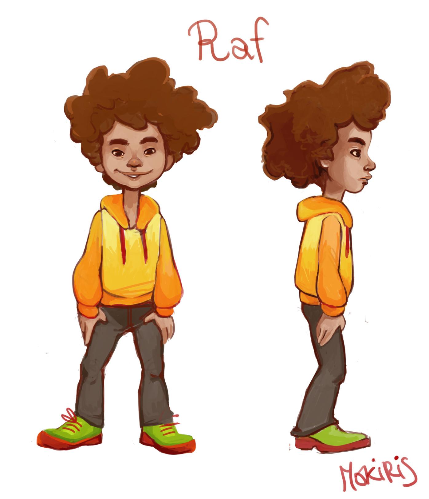 Raf, the Nina's friend