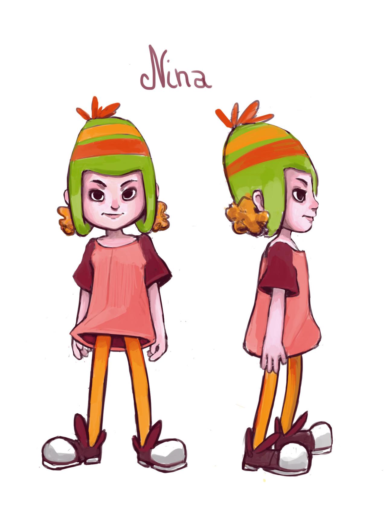Nina, the Marilou's daughter